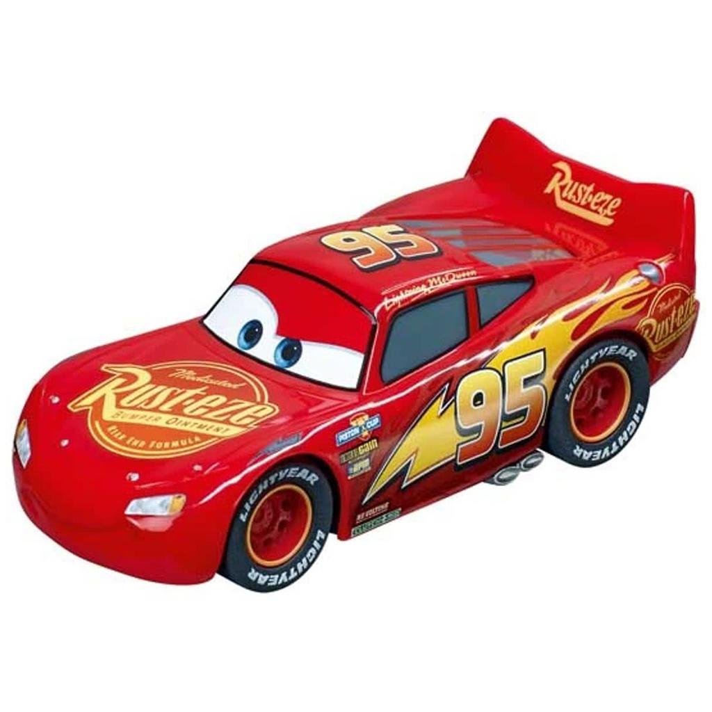 Afbeelding van Racebaanauto Carrera GO Cars 3 Bliksem McQueen