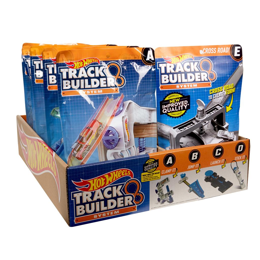 Afbeelding van Hot Wheels Track Builder Assorti Packs
