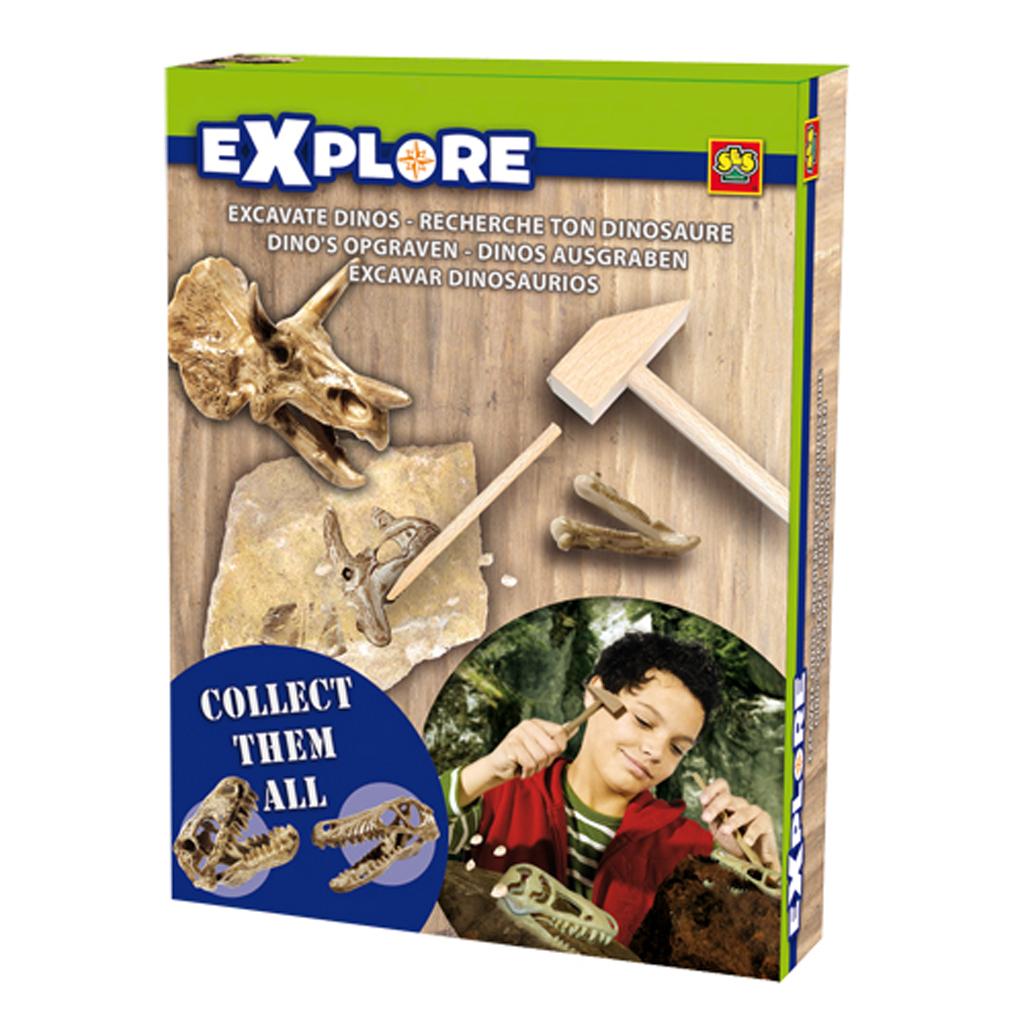 Afbeelding van Dino's Opgraven SES Explore Assorti