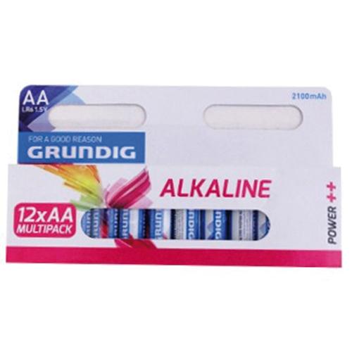 Afbeelding van Batterijen Grundig AA Alkaline 12 Stuks 2100mAh