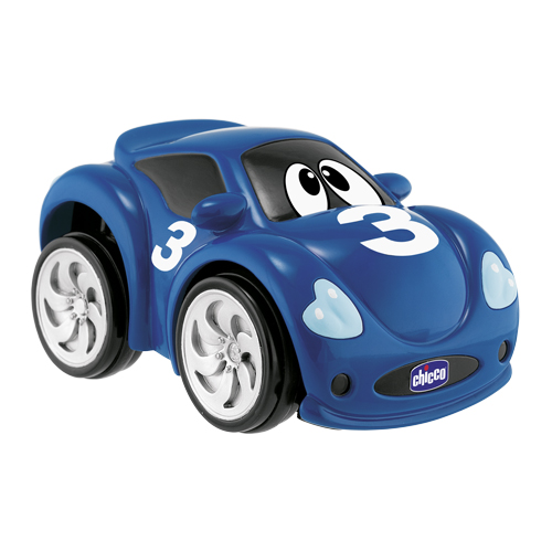 Afbeelding van Chicco Turbo Touch Racer Fast Blue