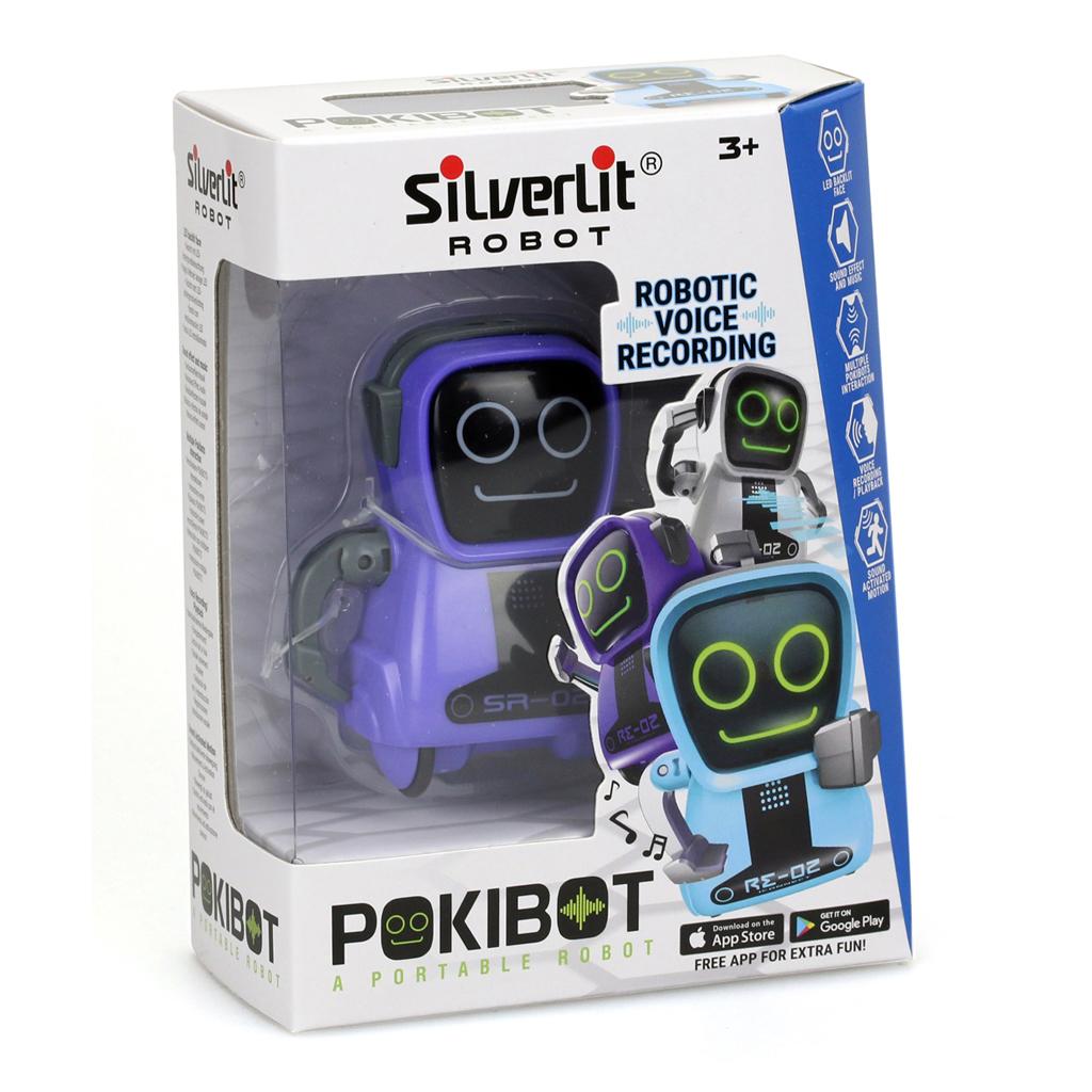 Afbeelding van Pokibot Paars
