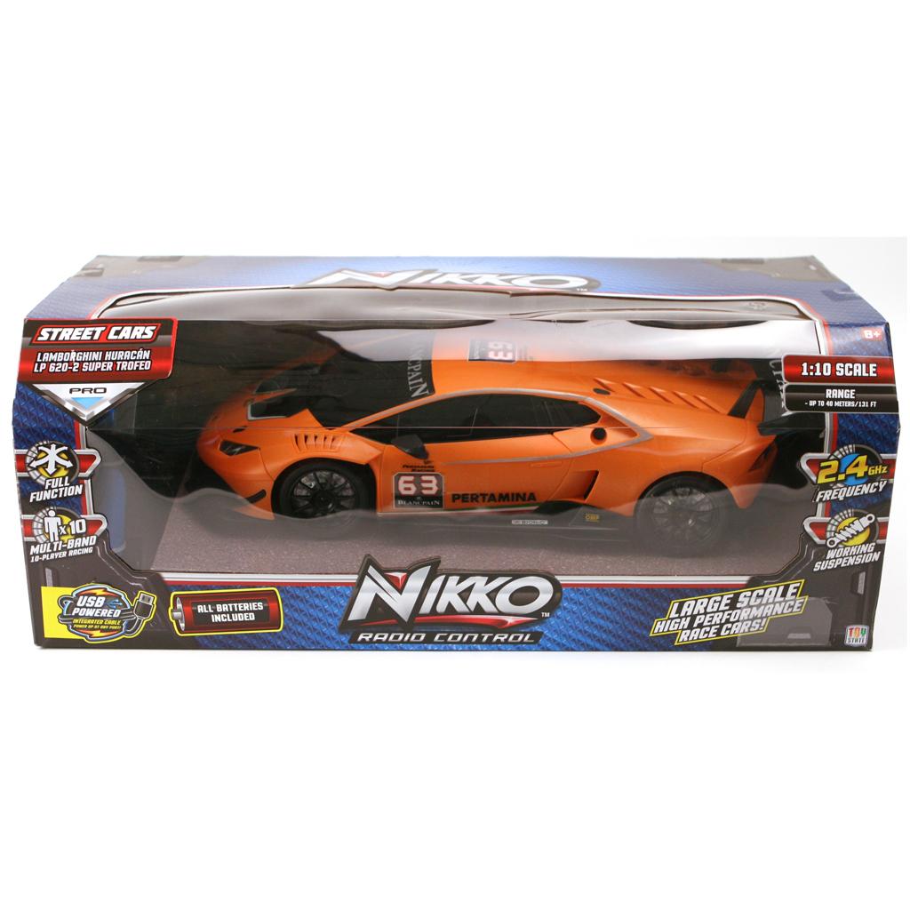Afbeelding van R/C 1:10 Lamborghini Hurricane Nikko Orange