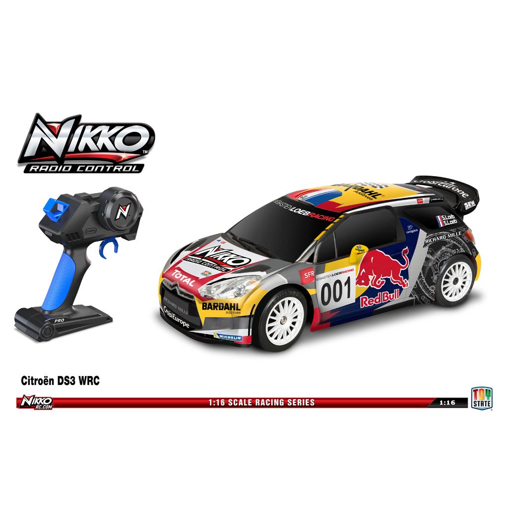 Afbeelding van R/C Auto Nikko Citroen DS3 Red Bull