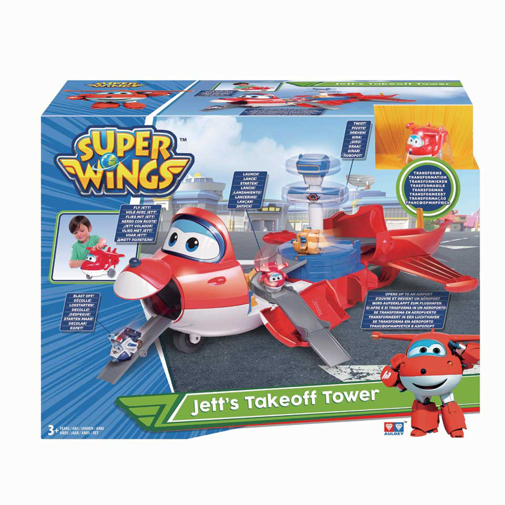 Afbeelding van Super Wings Jetts Take Off Tower