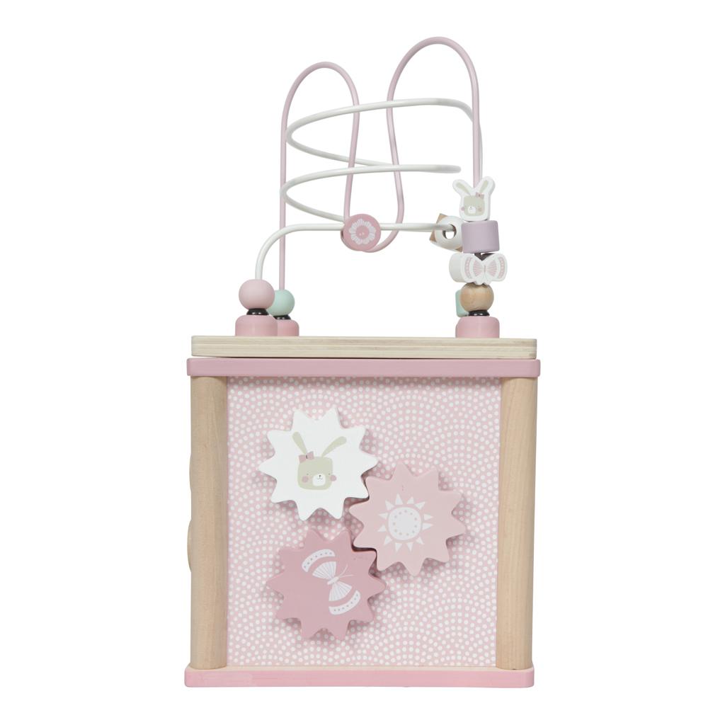 Afbeelding van Activiteitenkubus Pink Little Dutch