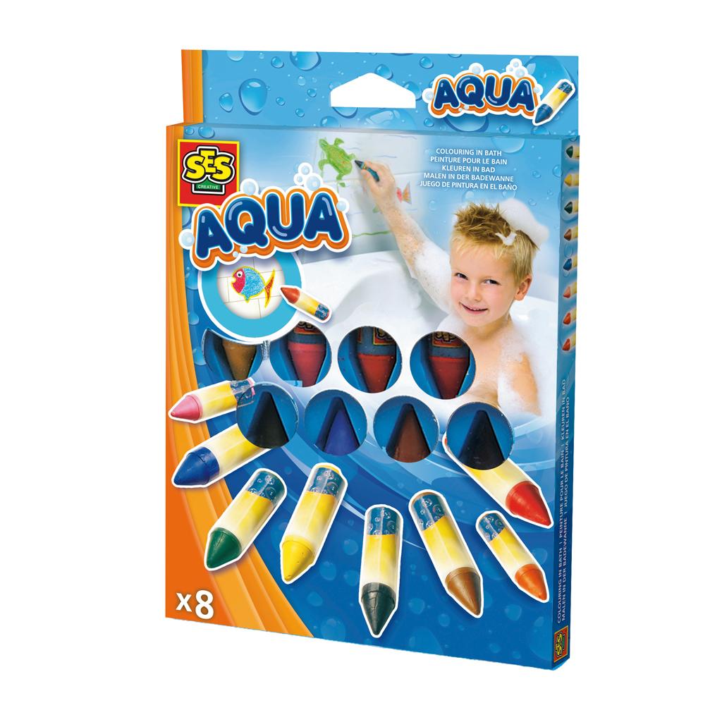 Afbeelding van Badspeelgoed SES Kleuren In Bad