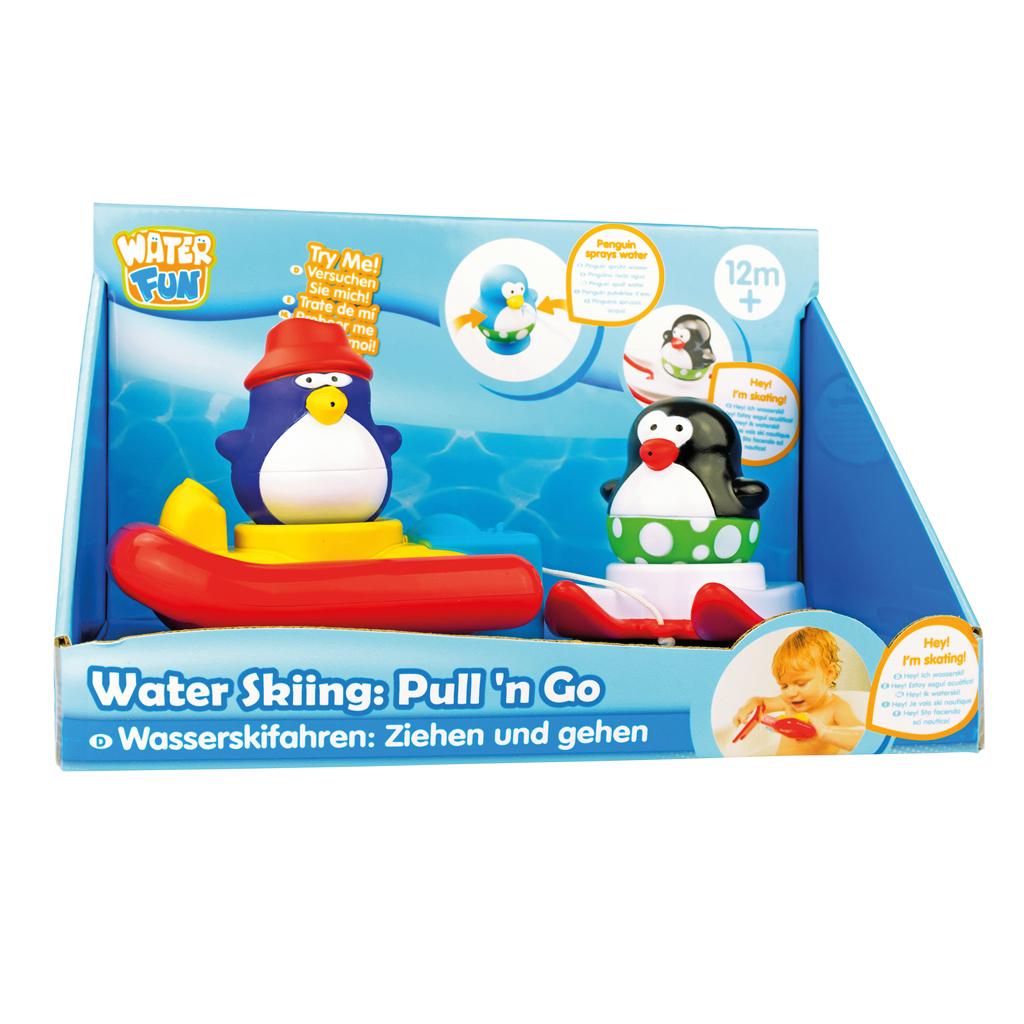 Afbeelding van Badspeelgoed Pull N Go Water Skating