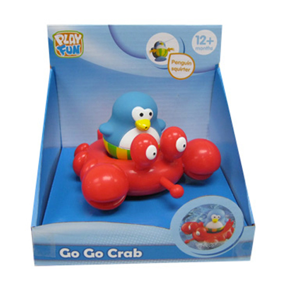 Afbeelding van Badspeelgoed Go Go Crab
