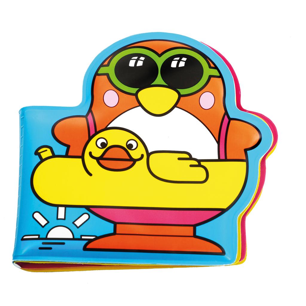 Afbeelding van Badspeelgoed Kleurboek Met Pinguin