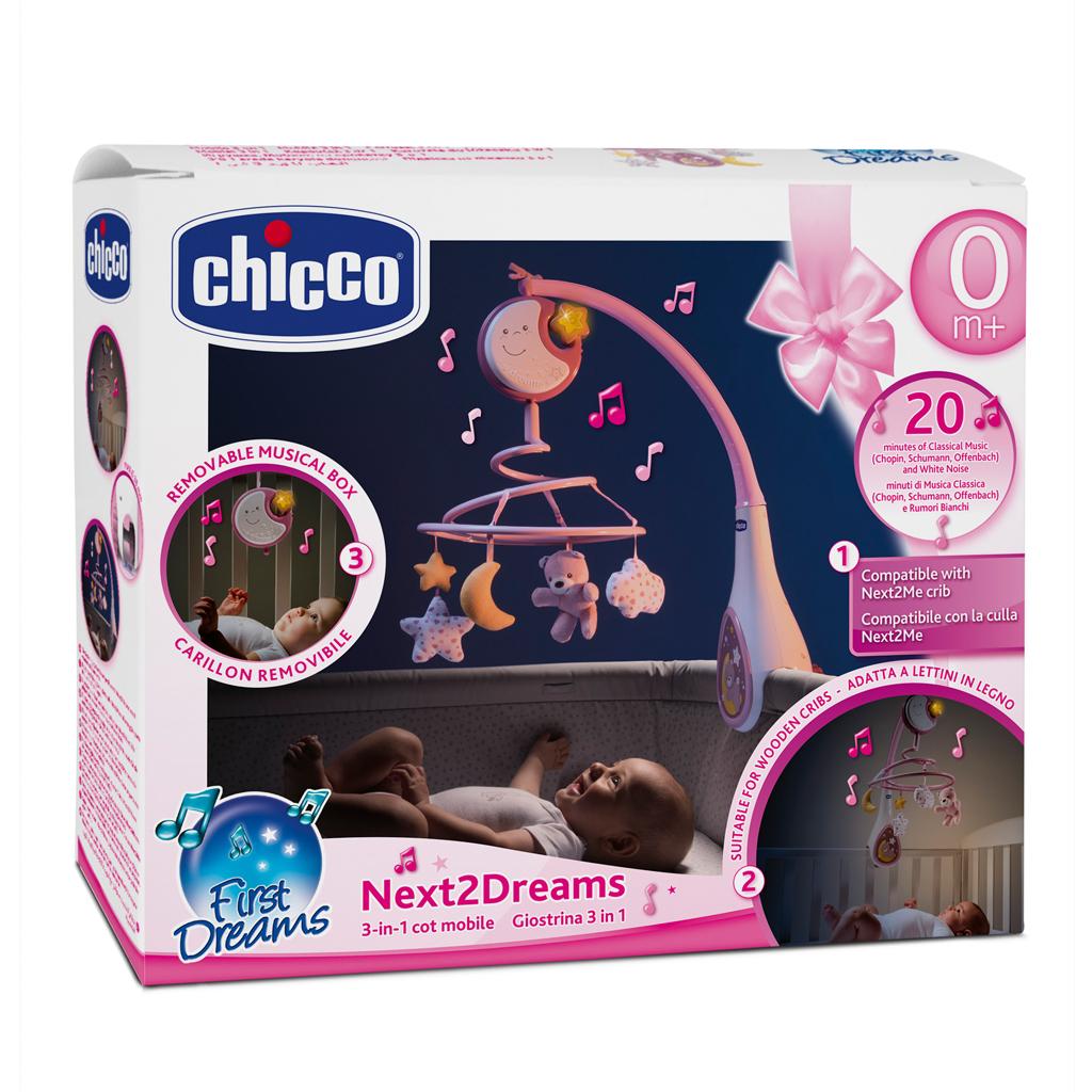 Afbeelding van Chicco Mobiel Next To Dreams Pink