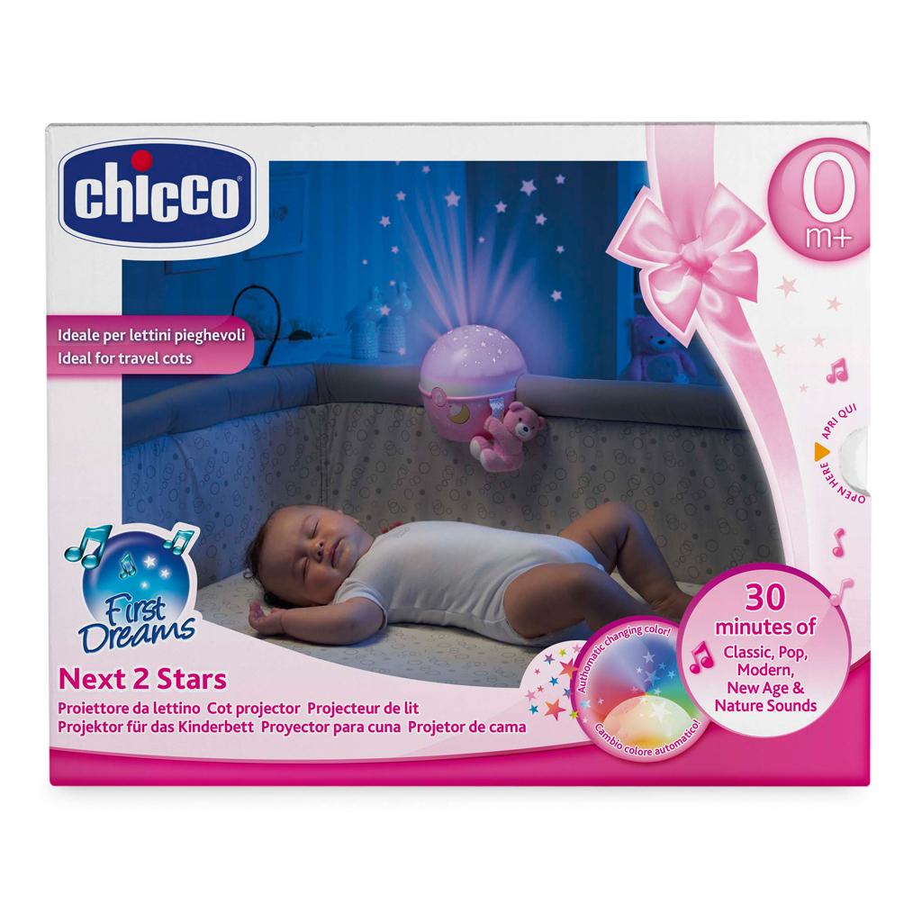 Afbeelding van Chicco Goedenacht Stars 2 Roze