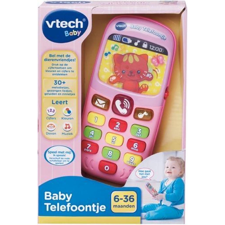 Afbeelding van Vtech Baby Telefoon Roze