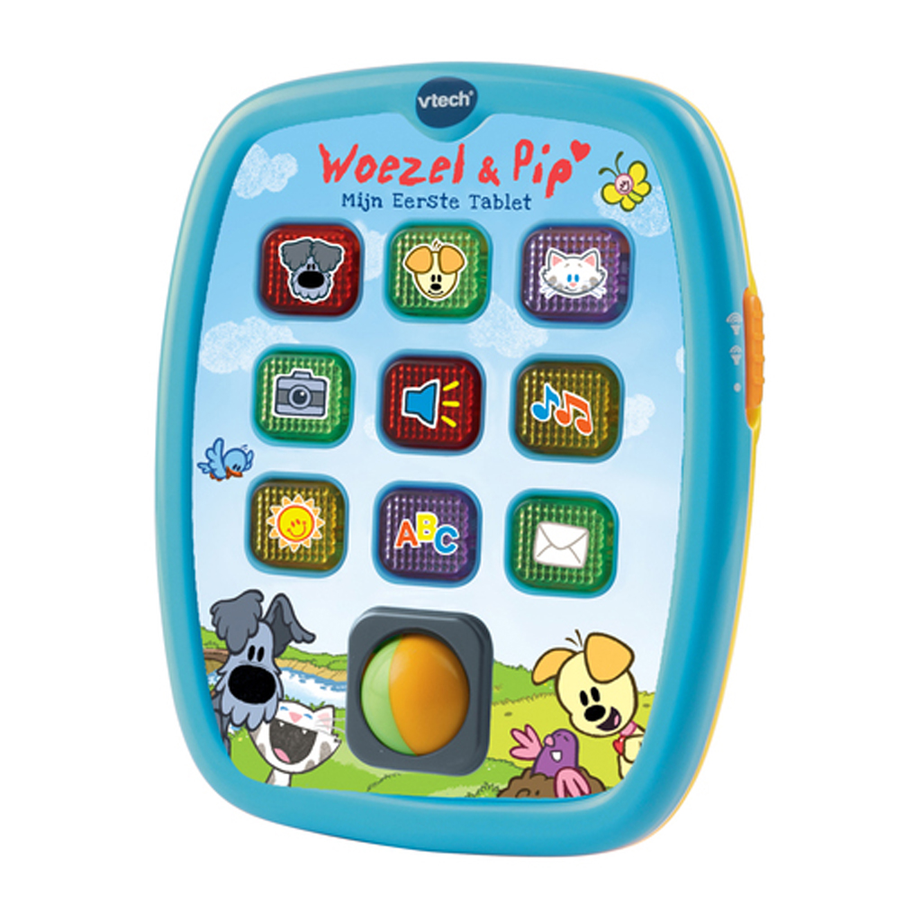 Afbeelding van Vtech Baby Woezel & Pip - Mijn Eerste Tablet