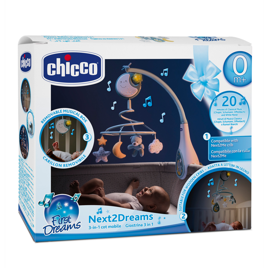 Afbeelding van Chicco Mobiel Next To Dreams Blue