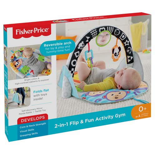 Afbeelding van Fisher Price 2 In 1 Activity Gym