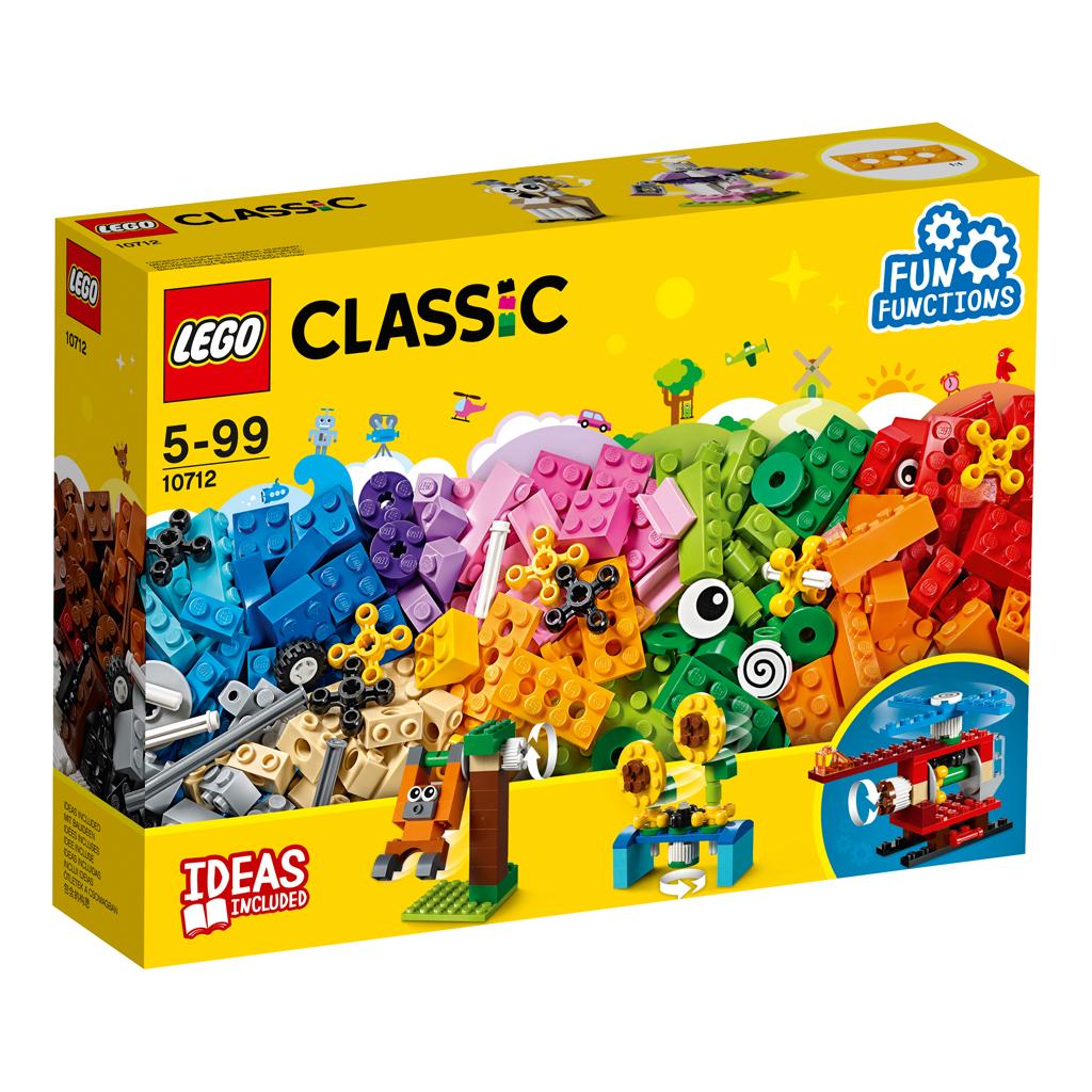 Afbeelding van LEGO 10712 Classic Stenen en Tandwielen