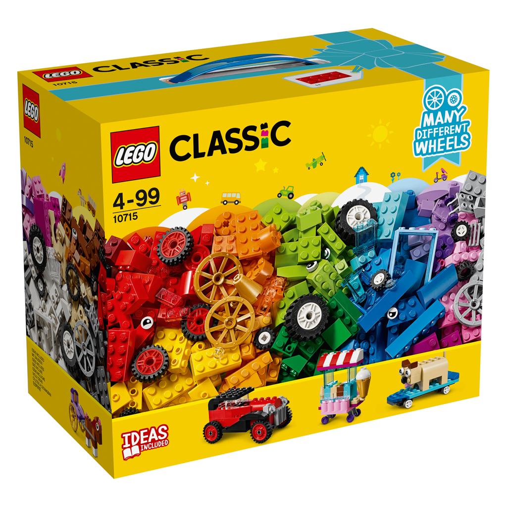 Afbeelding van LEGO 10715 Classic Stenen Op Wielen