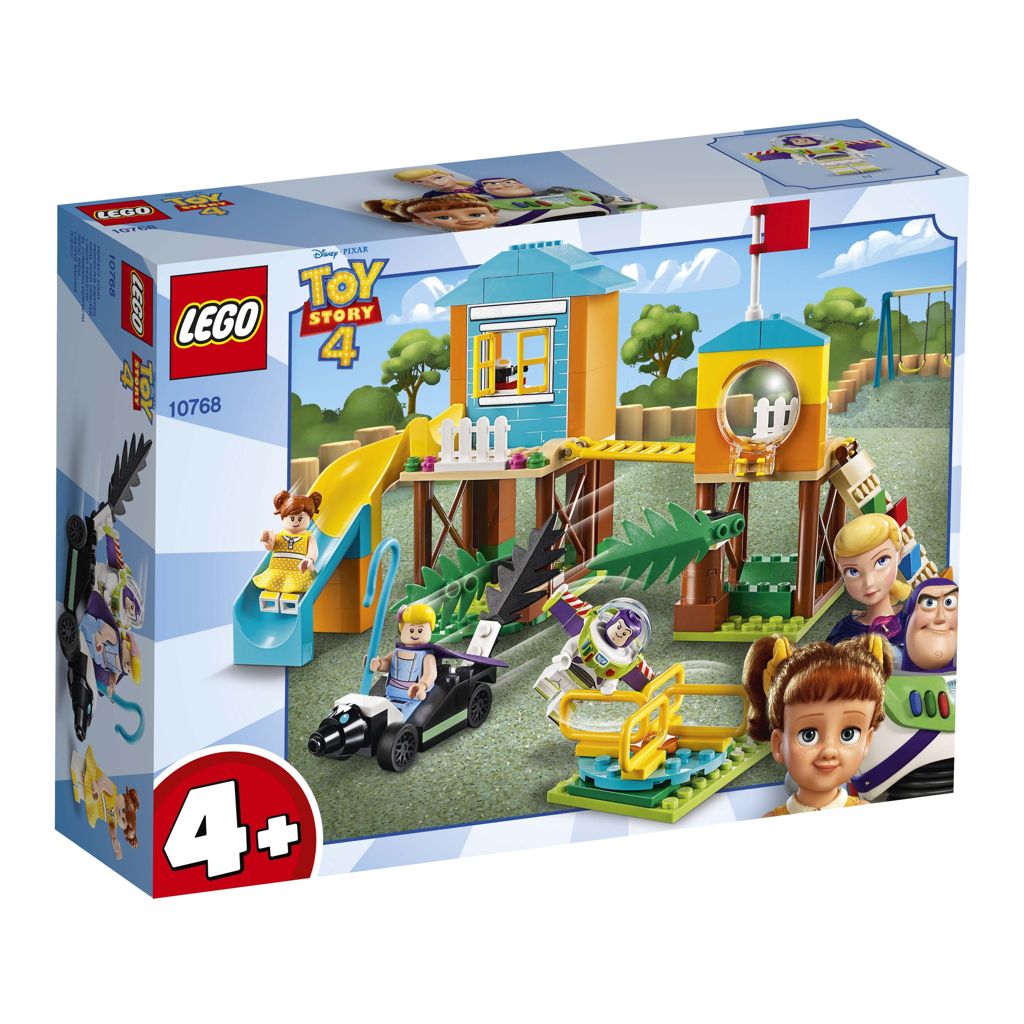 Afbeelding van LEGO 4+ 10768 Speeltuinavontuur van Buzz en Bo Peep