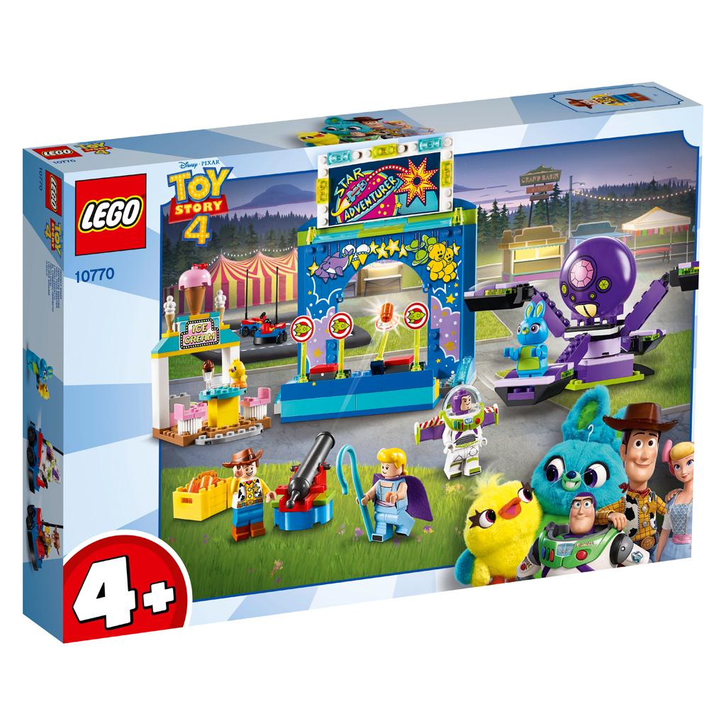 Afbeelding van LEGO 4+ 10770 Kermismania van Buzz en Woody