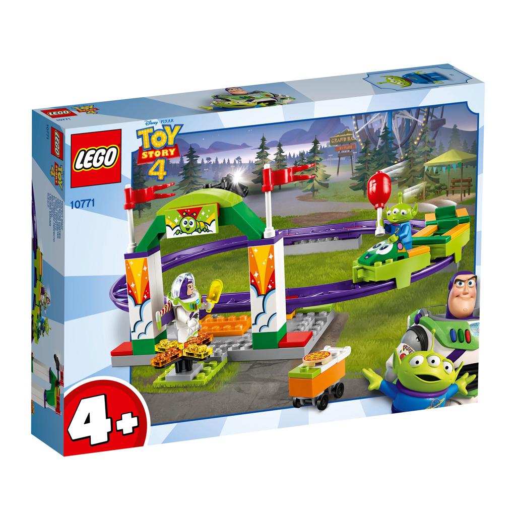 Afbeelding van LEGO 4+ 10771 Kermis achtbaan