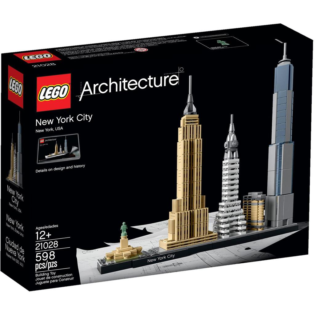 Afbeelding van LEGO Architecture 21028 New York