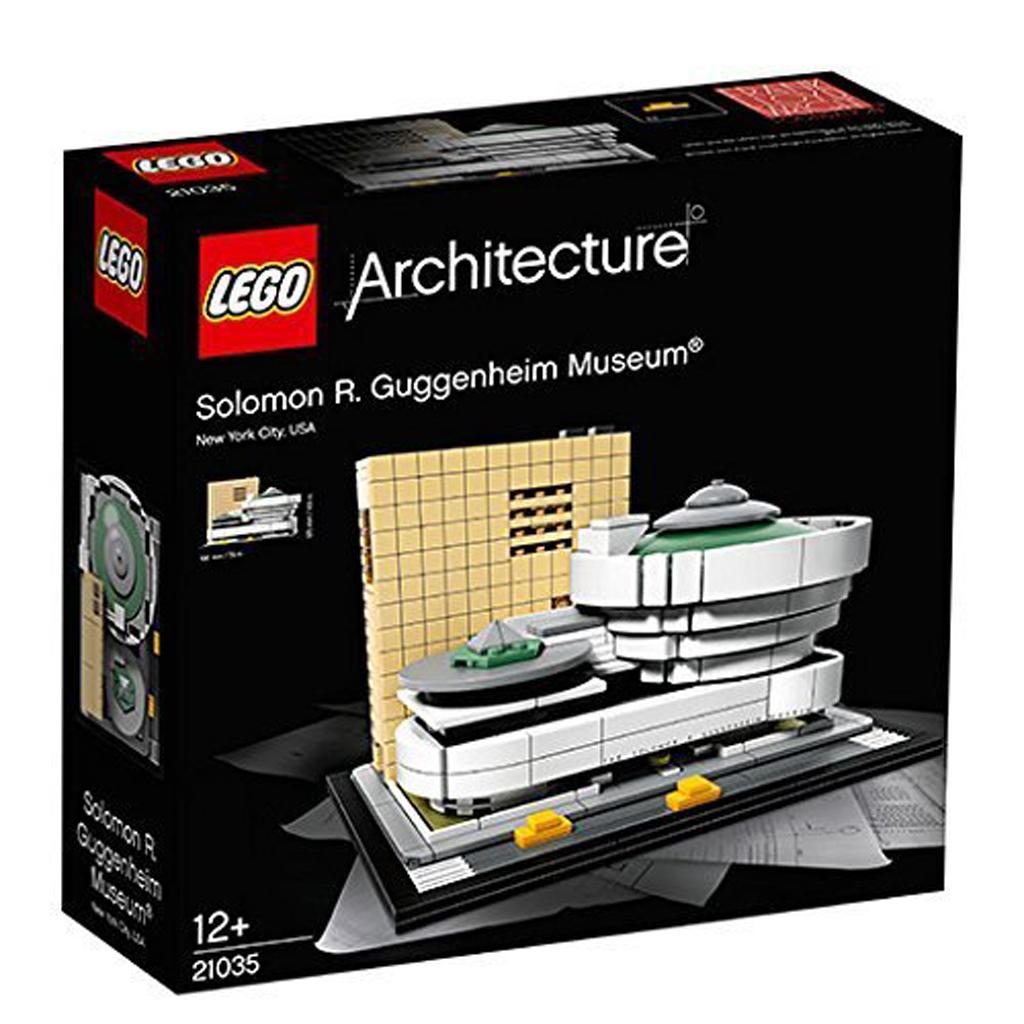Afbeelding van LEGO 21035 Guggenheim Museum Architecture