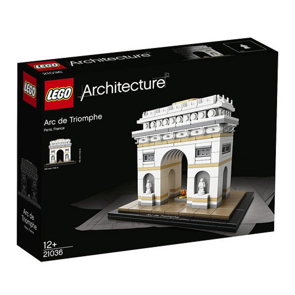 Afbeelding van LEGO 21036 Arc De Triomphe Architecture