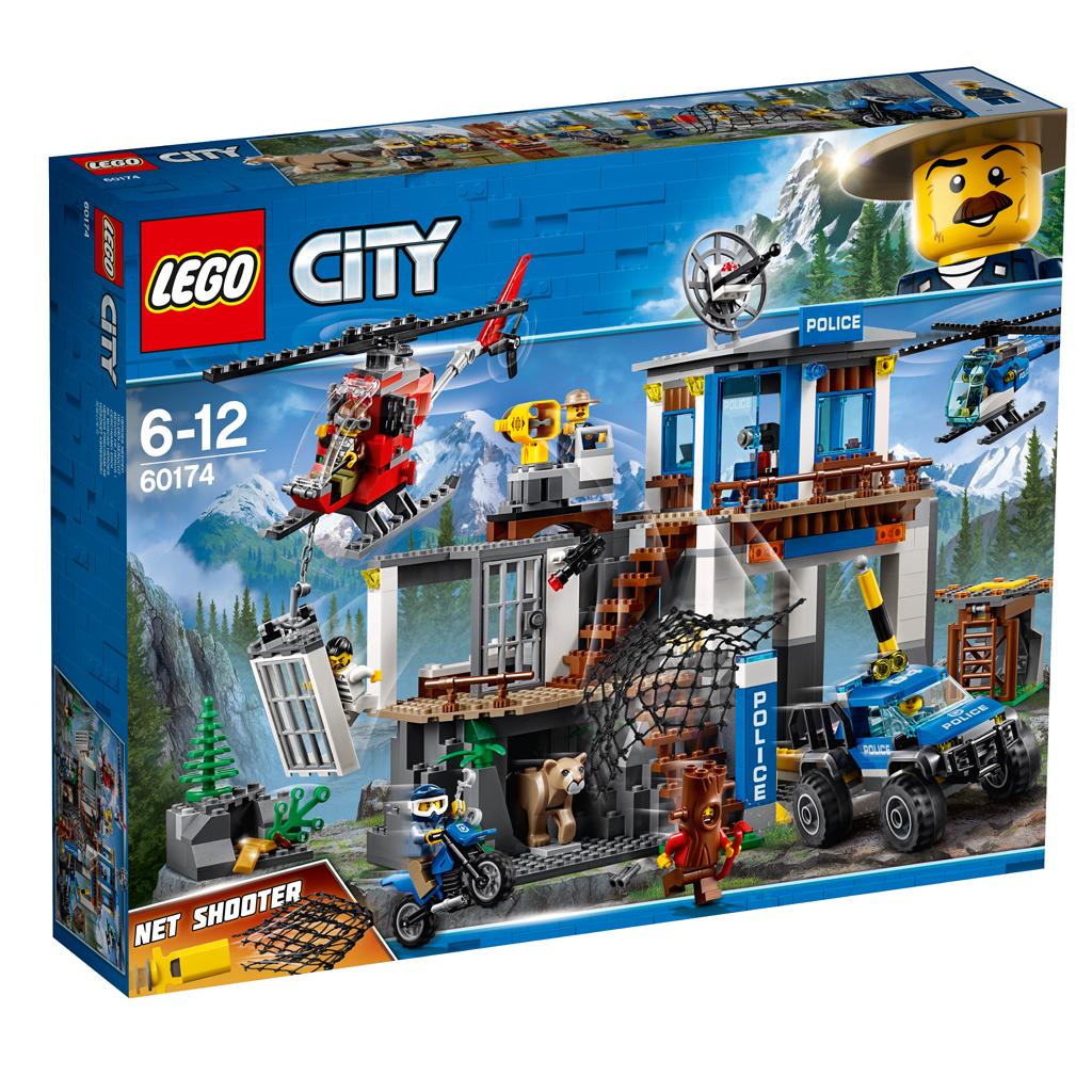 Afbeelding van LEGO City 60174 Politiekantoor Op De Berg