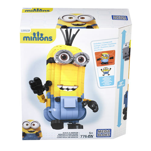 Afbeelding van Mega Bloks Minions Build A Minion