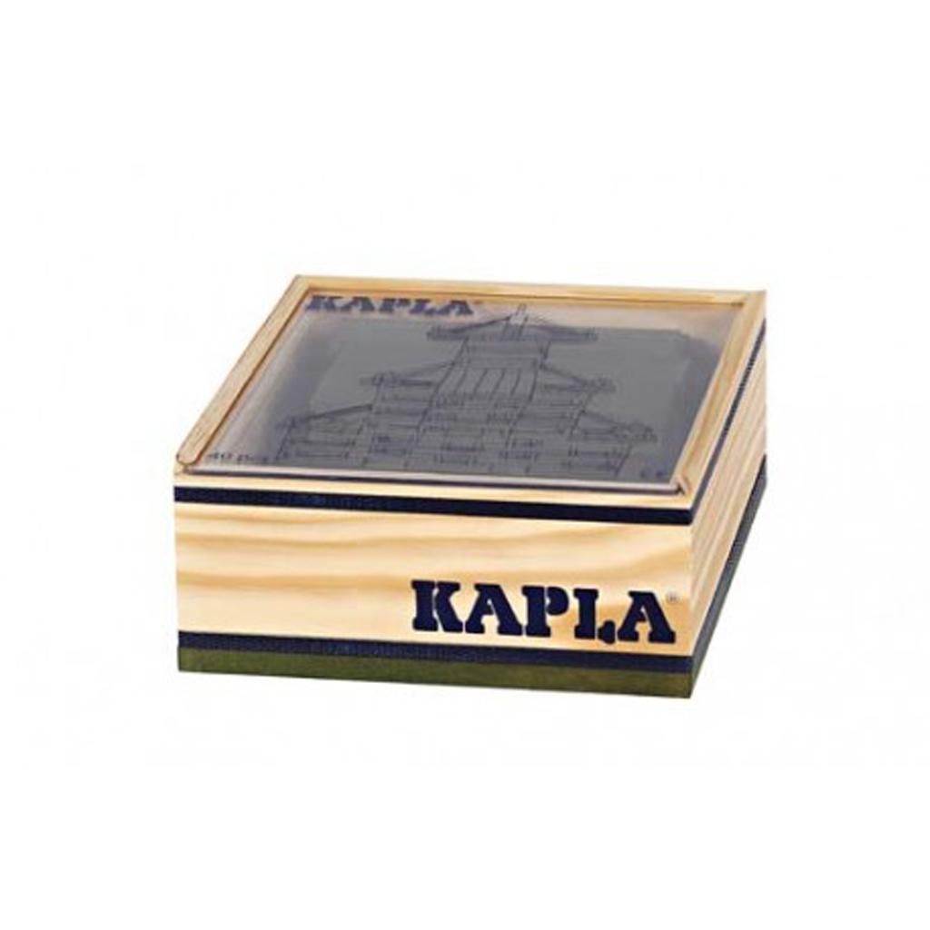 Afbeelding van Kapla 40 Donkergroen In Kist