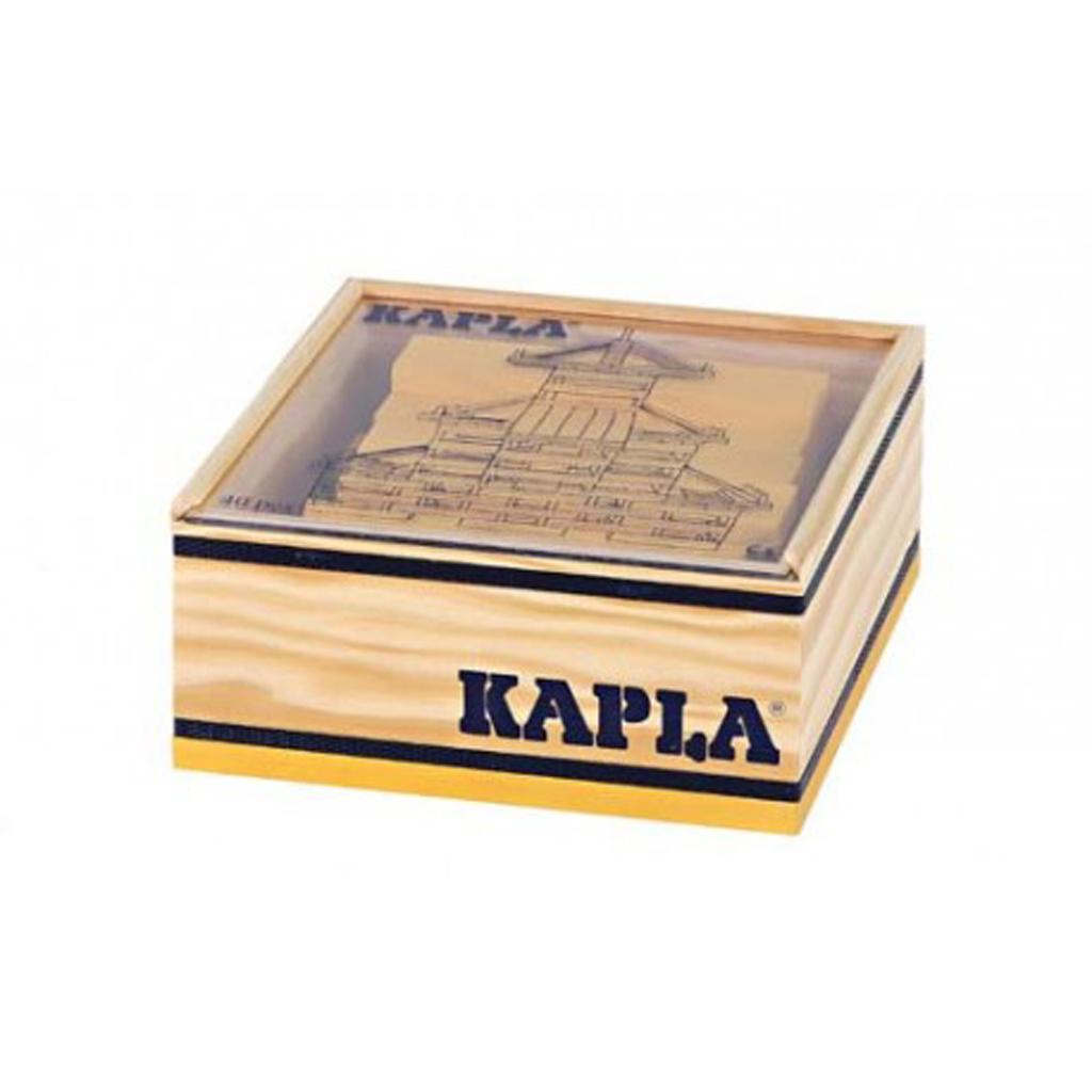 Afbeelding van Kapla 40 Geel In Kist