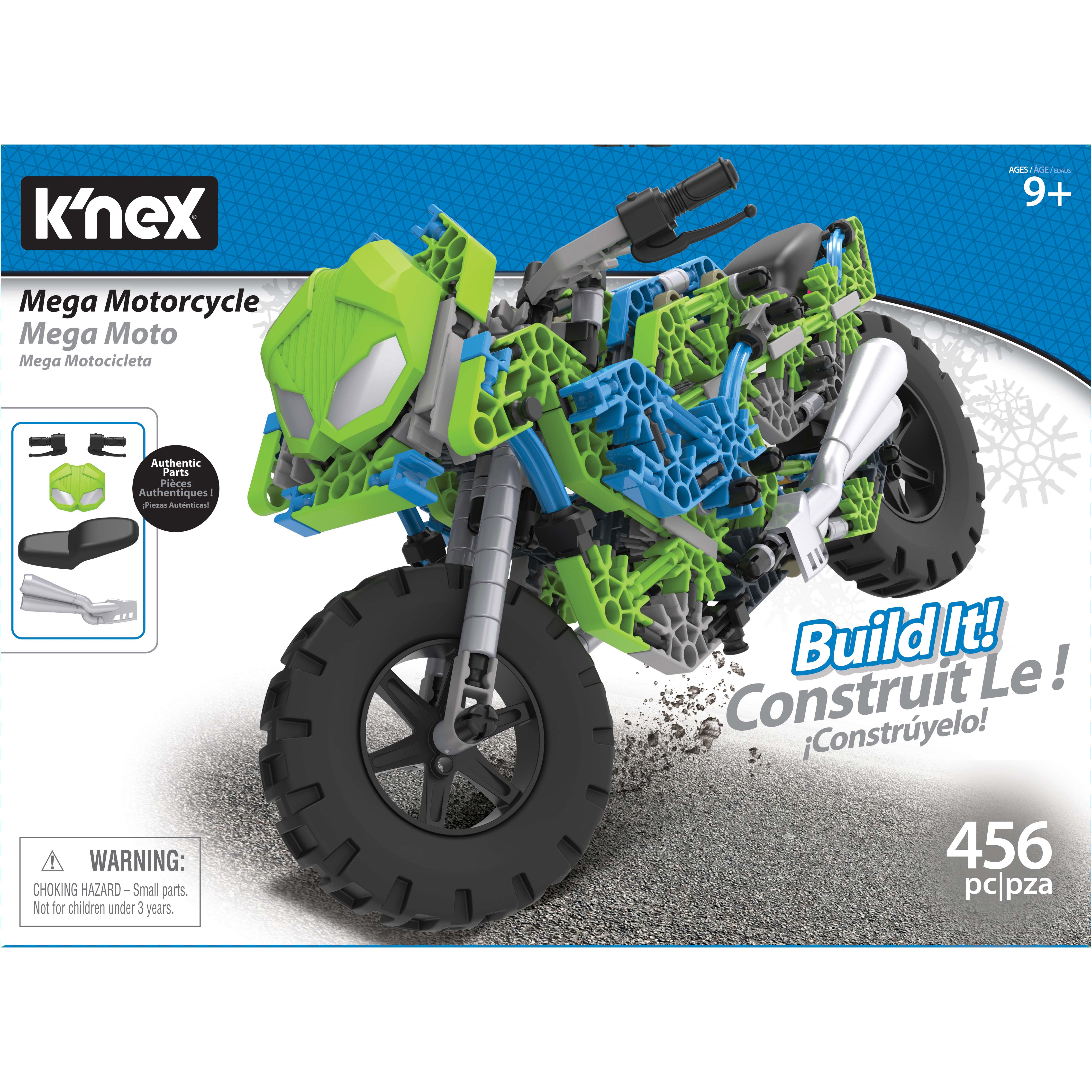 Afbeelding van Knex Building Sets Mega Motorcycle