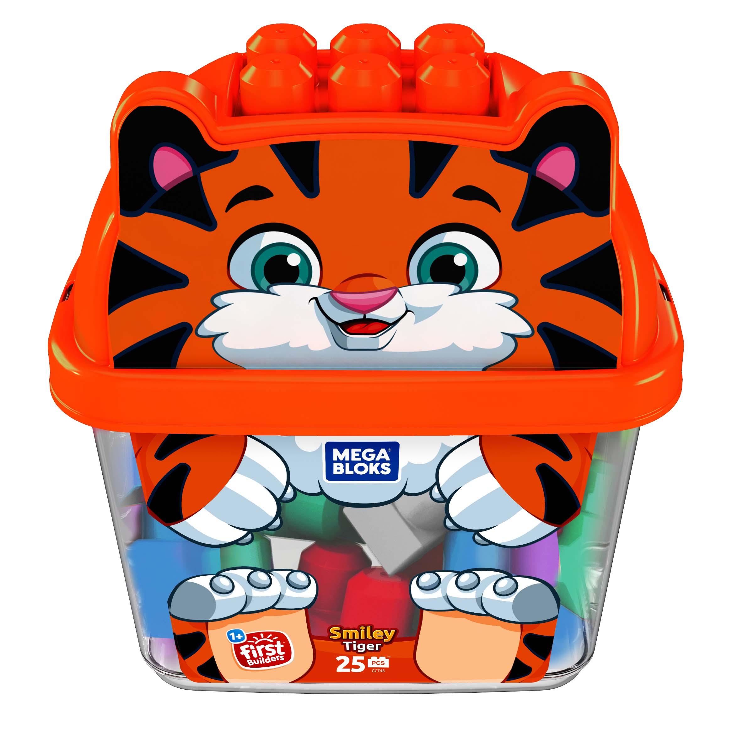 Afbeelding van Mega Blocks Blokken Smiley Tiger