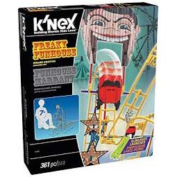 Afbeelding van Knex Freaky Funhouse Roller Coaster Set