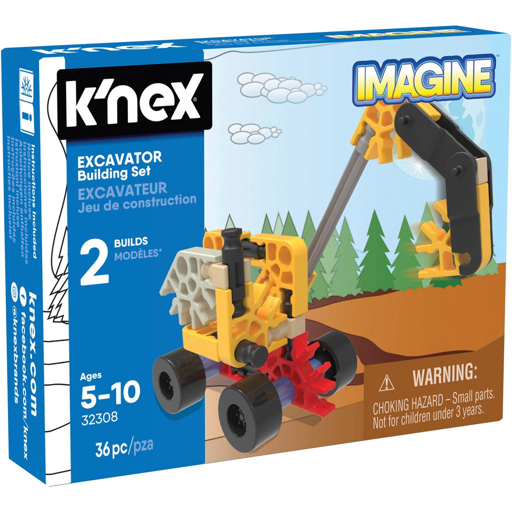 Afbeelding van Knex Building Sets Excavator