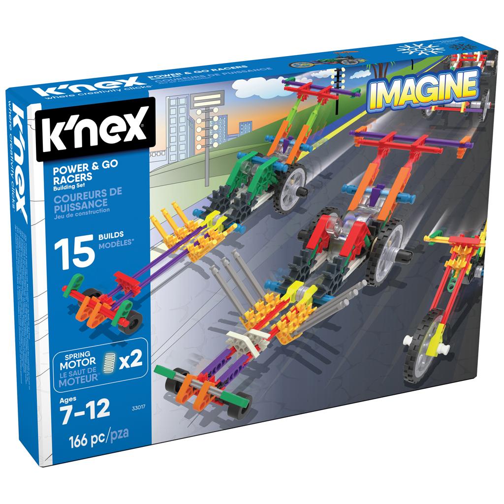 Afbeelding van Knex Building Sets Power & Go Racers