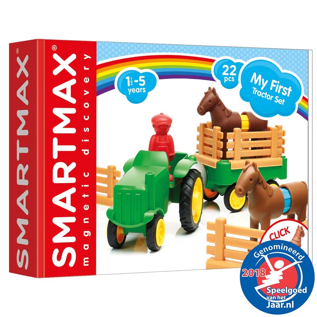 Afbeelding van Smartmax My First Tractor Set