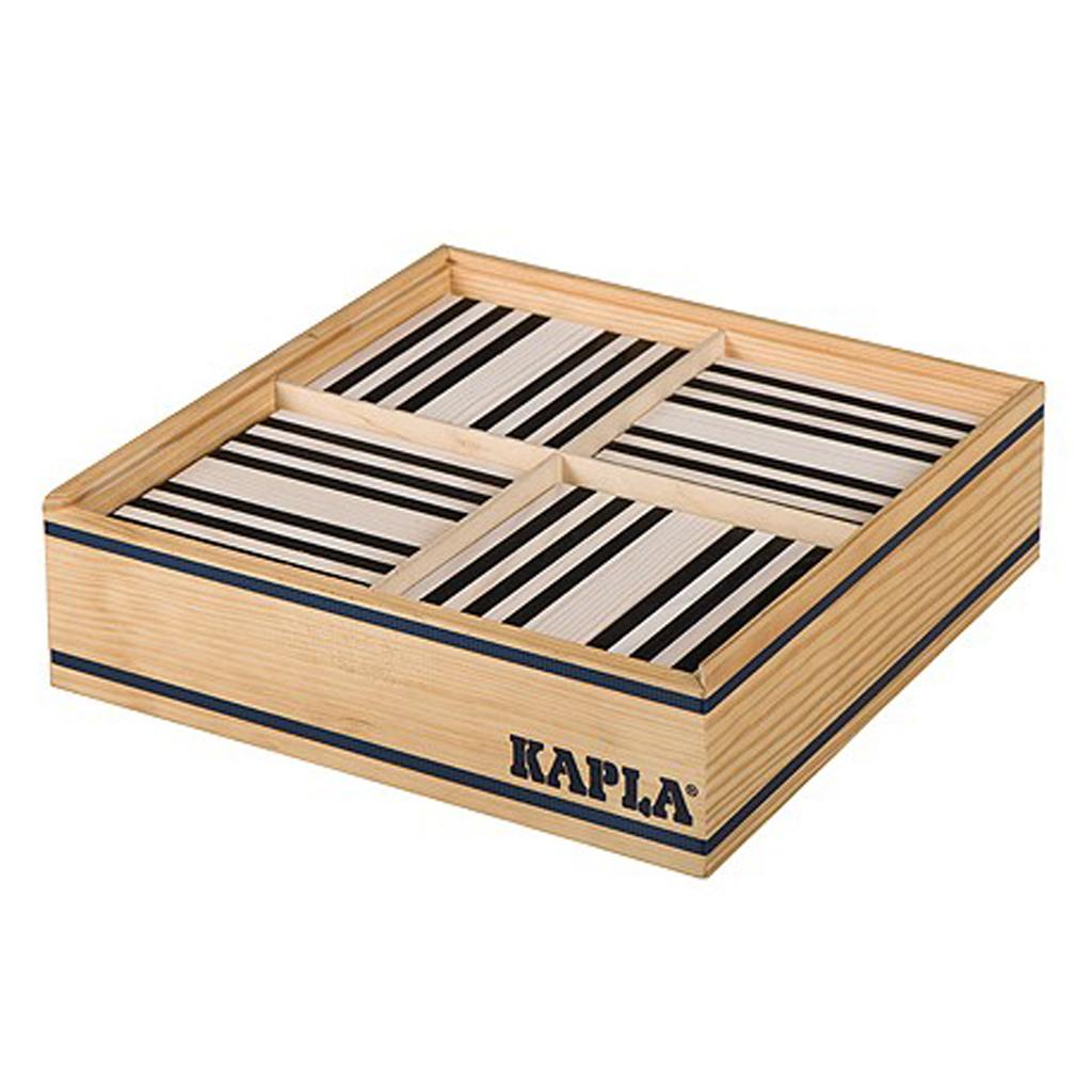 Afbeelding van Kapla 100 Zwart En Wit In Kist