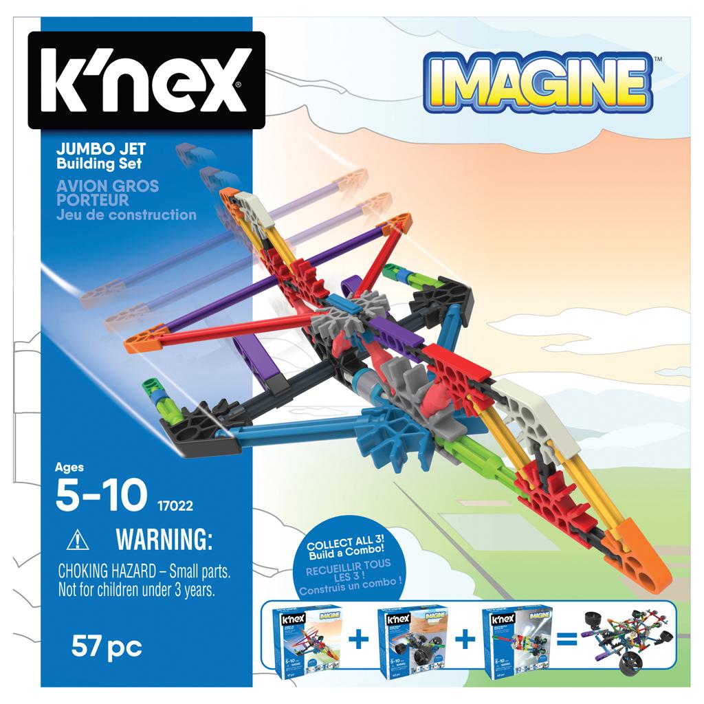 Afbeelding van K'NEX Building Sets Jumbo Jet