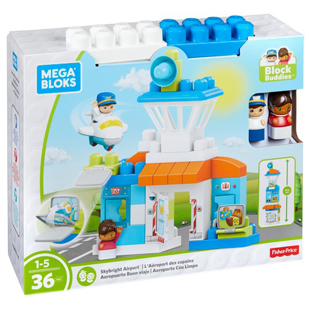 Afbeelding van Mega Bloks First Builders Skybright Airport