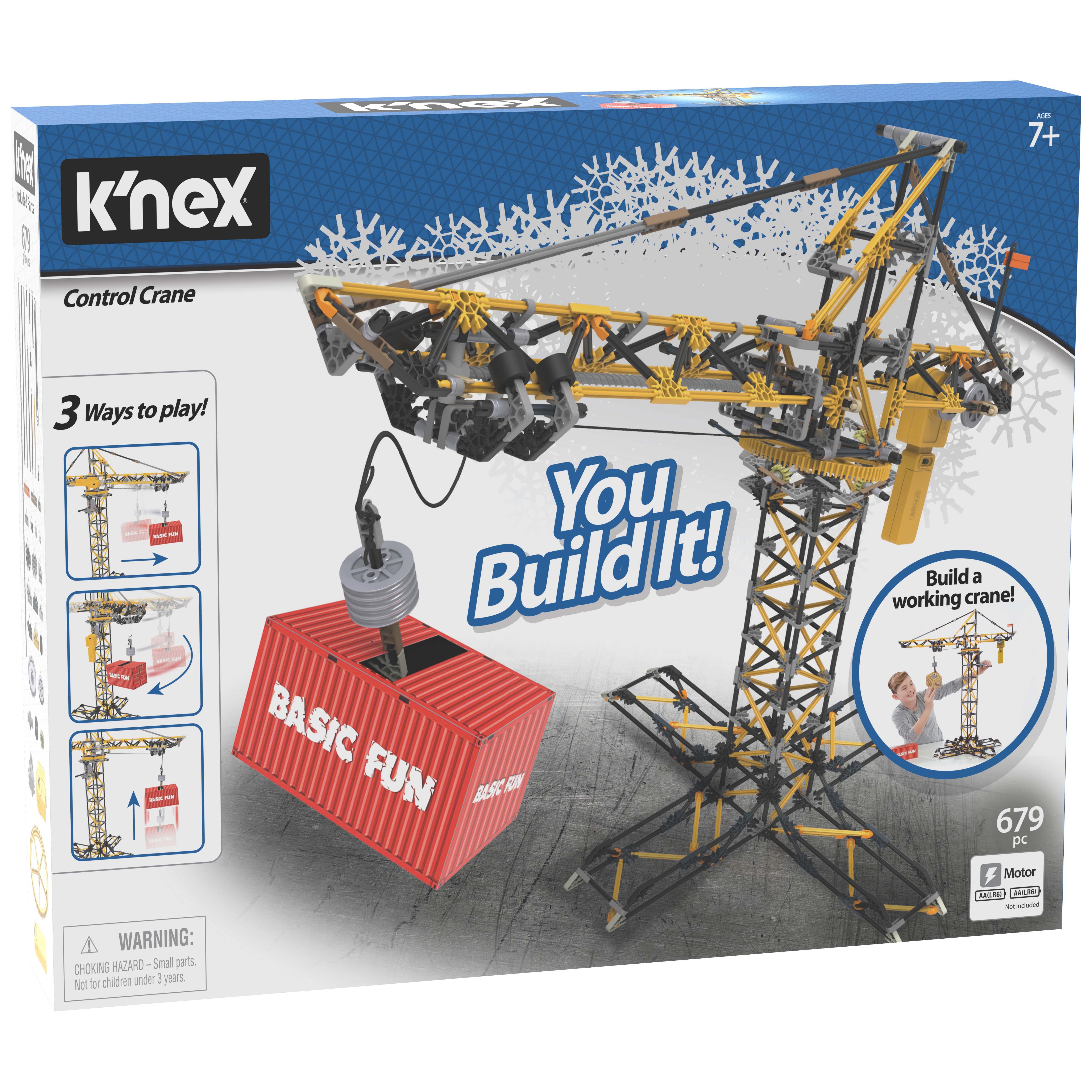 Afbeelding van K'nex Building Sets Control Crane Building Set