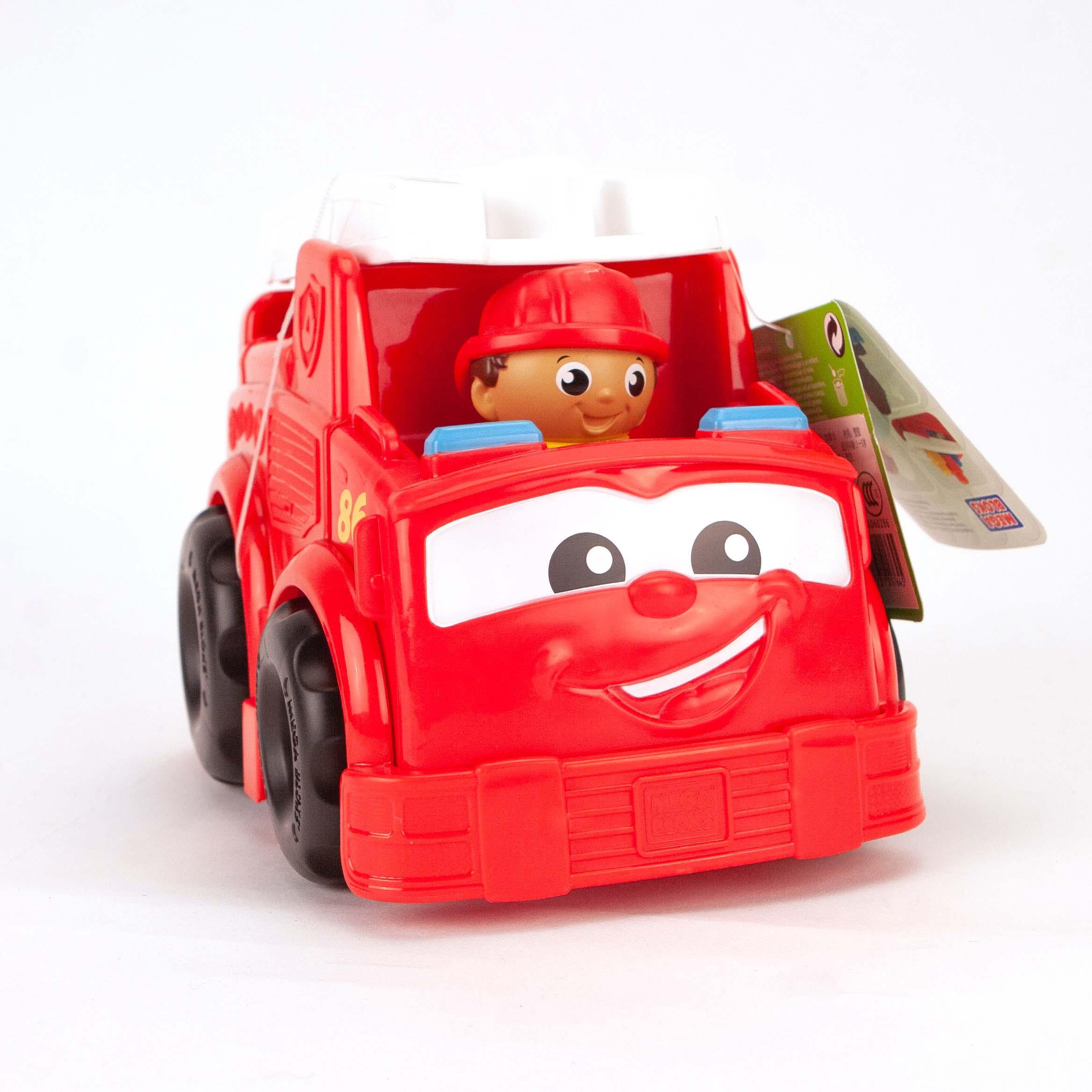 Afbeelding van Mega Bloks First Builders Fire Truck Lil Vehicle