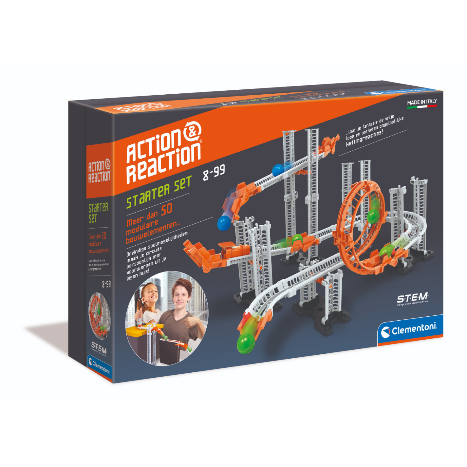 Afbeelding van Action And Reaction Kogelbaan Starter Set