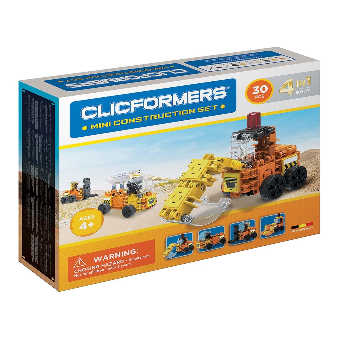 Afbeelding van Clicformers Mini Construct Set 4 In 1