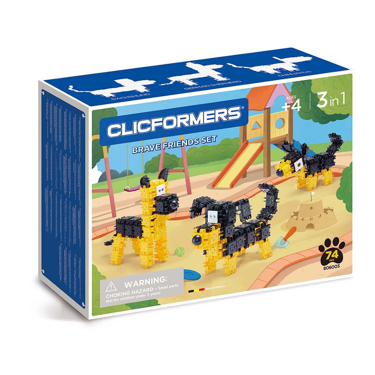 Afbeelding van Clicformers Brave Friends Set
