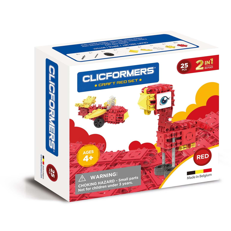 Afbeelding van Clicformers Craft Red Set 2 In 1