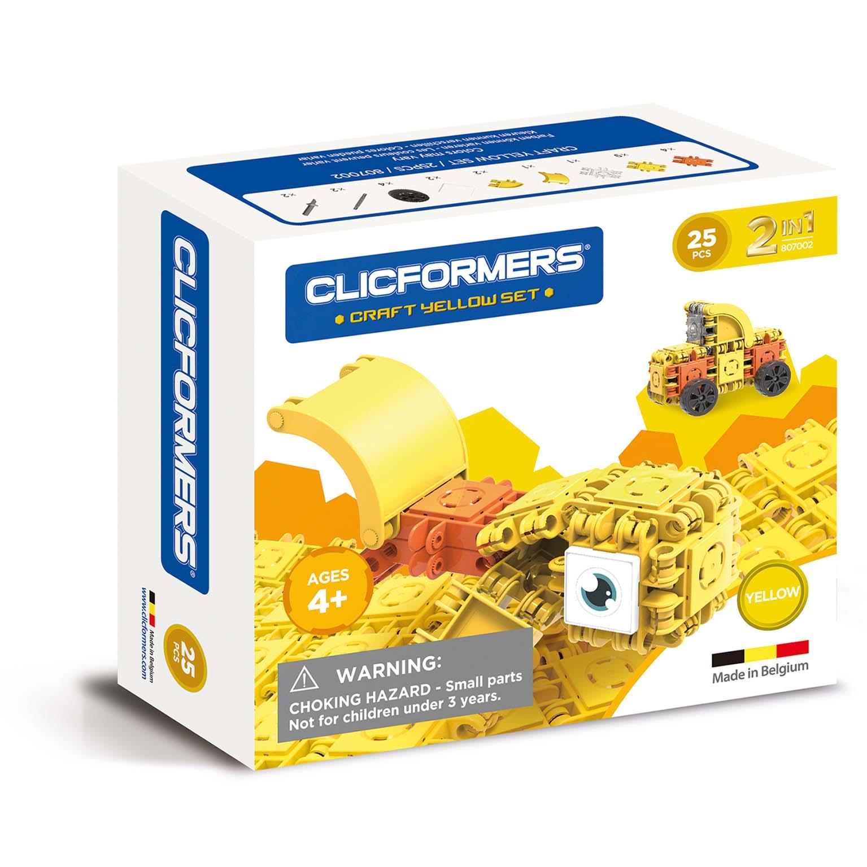 Afbeelding van Clicformers Craft Yellow Set 2 In 1