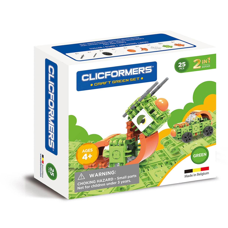 Afbeelding van Clicformers Craft Green Set 2 In 1