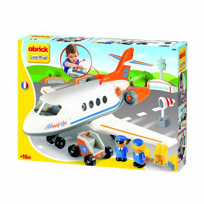 Afbeelding van Vliegtuig Happy Jet Abrick